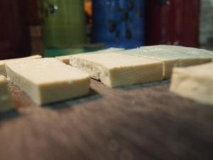 sliced tofu